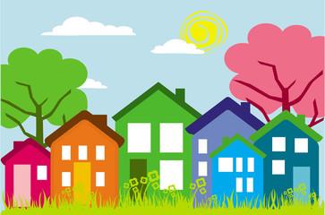 houses on setreet
