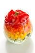 healthy rainbow salad