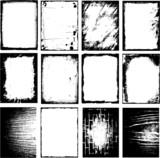 Grunge frames - 23510429