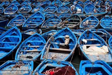 Blaue Boote Essaouira