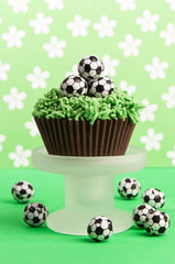 Football Birthday Cake