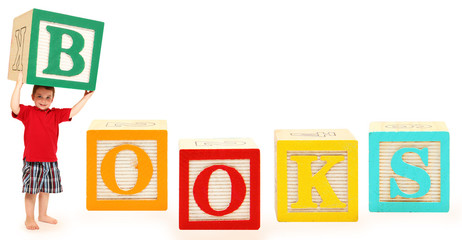Alphabet Blocks BOOKS