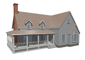 House with porch