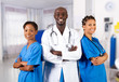 group of african american doctors