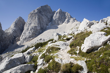 Julian alps - mt. Jalovec