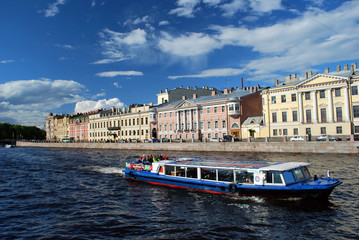 Une promenade à Saint Petersbourg