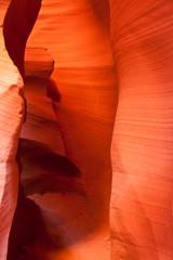 The famous Antelope Canyon in Arizona, USA