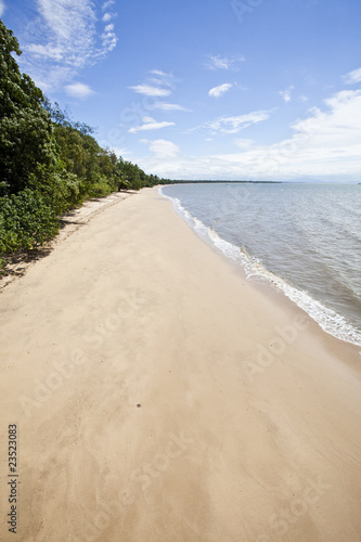 tropical beach in queensland