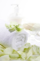 aromatherapy with roses