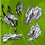Crocodiles and Alligators.Predators. poster