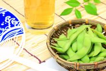 Zielona soja i piwo