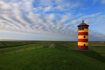 Leuchtturm Pilsum Nordsee - lighthouse beacon