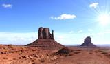 soleil et monument valley