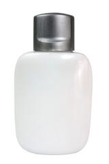 cosmetic product  in white   container