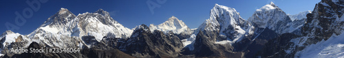 Foto op Plexiglas Nepal Mount Everest Panorama