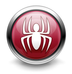 Red malware/virus icon