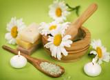 Fototapeta ziołowy - zioła - Produkty czyszczące