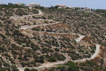 Golf - Aphrodite Hills - Zypern, Abfahrt zu 7.Loch