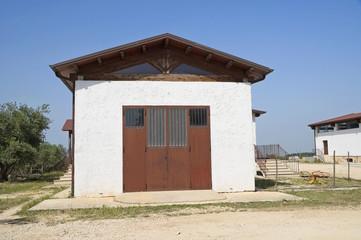 Farmhouse.