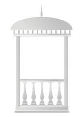 Architectural element - Arbour (rotunda)