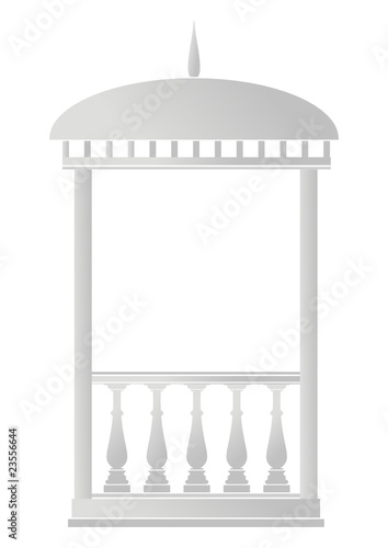 Architectural element - Arbour (rotunda)
