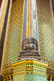 Buddha statue with Thai style pattern