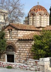 Byzantine Orthodox Church in Athens