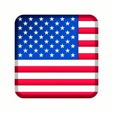 animation drapeau bouton usa