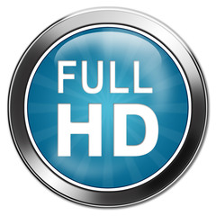 button full HD aqua