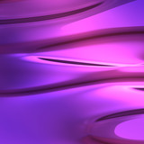 Fluid flowing colors poster
