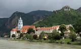 Duernstein at river Danube (Wachau, Lower Austria) 02 poster