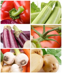 Collection of vegetables close