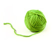 Green thread ball