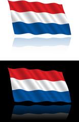 Dutch Flag Flowing