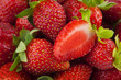 Strawberries background