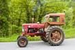 tracteur roulant à pleine vitesse