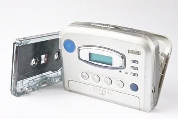 Stereo radio player with cassette