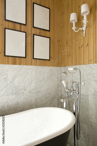 A part of bathroom