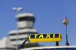 Taxi am Fughafen
