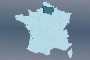 région picardie sur france 3d