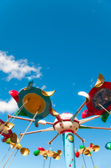 Carousel on the sky