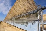 Renewable Energy Parabolic Trough Solar Mirror Panels poster