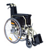 Постер, плакат: black invalid wheelchair isolated