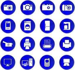 icône électroménager et multimédia