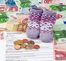 Antrag auf Kindergeld in Deutschland