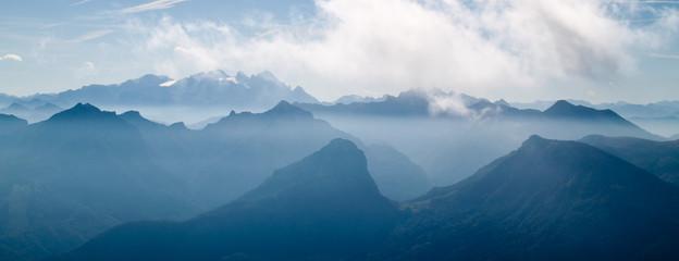 Österreich Berge Landschaft