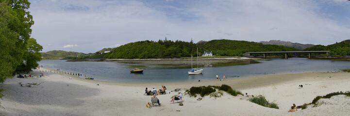 Scozia - spiaggia di Mallaig