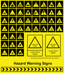 Make your own Hazard Warning sign