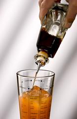 Pour into a mixer