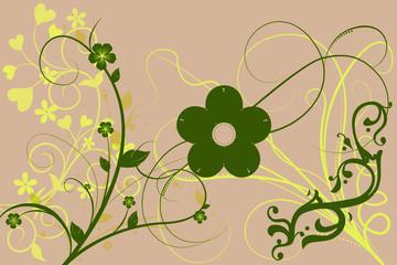 Blumenornamente
